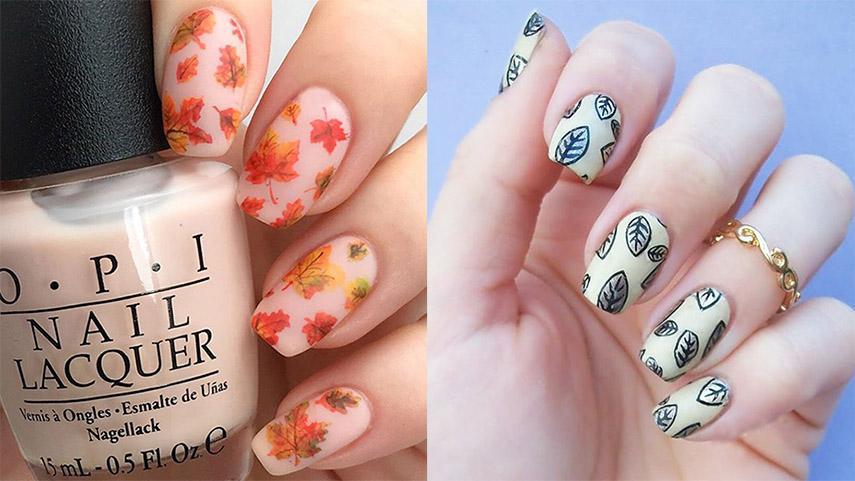 Cảm hứng thiết kế 14 mẫu nail mùa thu tuyệt đẹp